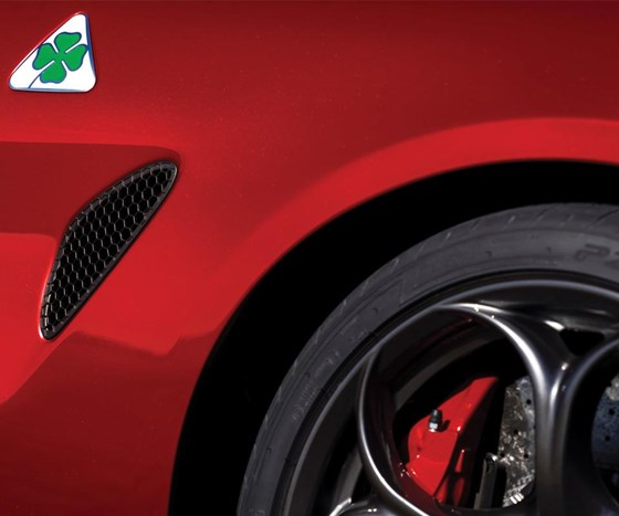 "About the four-leaf clover badge: it goes back to Alfa's racing past, back to 1923, when a driver with that symbol painted on his car won the Targa Florio race. Speaking of heritage: Reid Bigland, CEO of Alfa Romeo, points out, ""It started in 1910. Milan, Italy, is the birthplace of Alfa Romeo, which is somewhat fitting because it is one of the fashion capitals of the world, and certainly design and style have been a key calling card since 1910."""