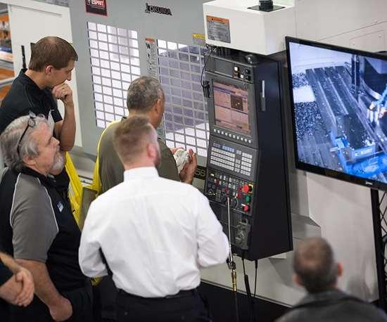 Okuma technology showcase