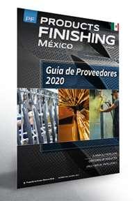 Diciembre Products Finishing México número de revista