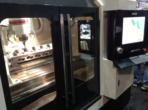 Rottler's P69 five-axis cylinder head digitizing and porting machine
