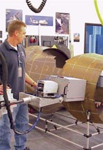 Thermographic tests of components for engine nacelle packages help fabricator Nordam identify manufacturing defects accurately and efficiently.