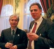 Dr Toshio Tanimoto and Dr. Klaus Dreschler