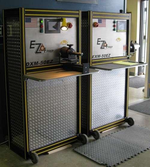 programmable edge prep machines