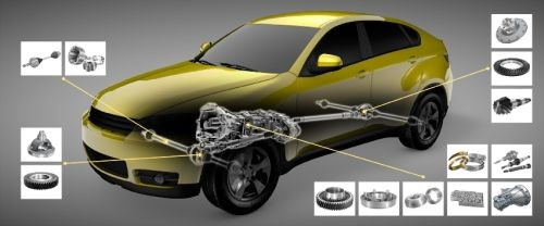 turning applications in the automotive transmission