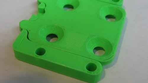 3D printed prototype part