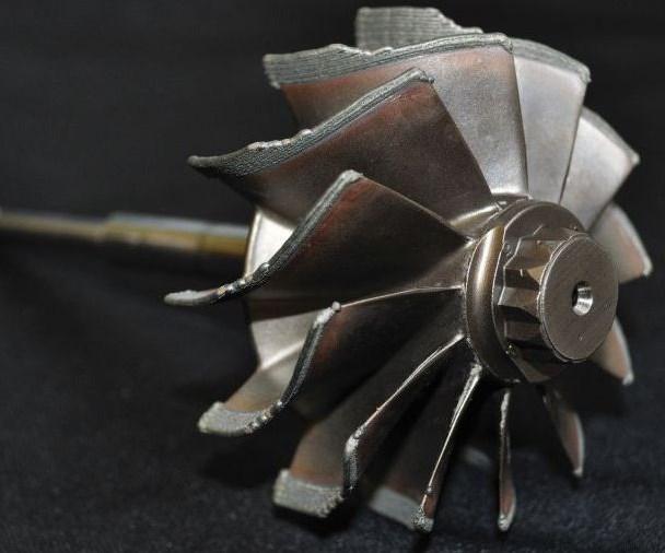 impeller made by Hybrid Mfg.