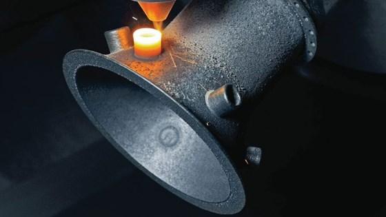 The Lasertec 65 3D machine