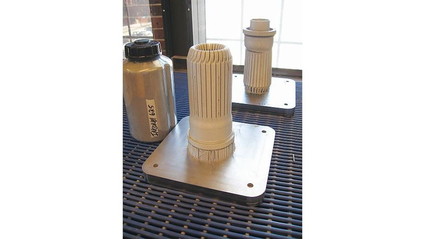 heater heads made of Inconel 625