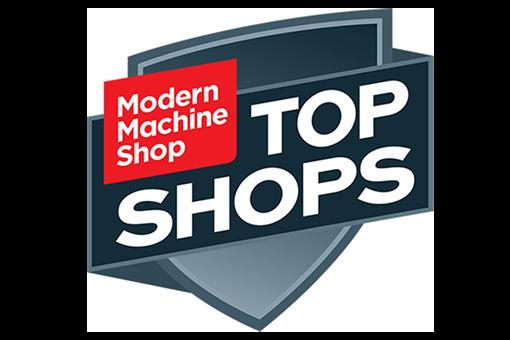Modern Machine Shop Top Shops Logo