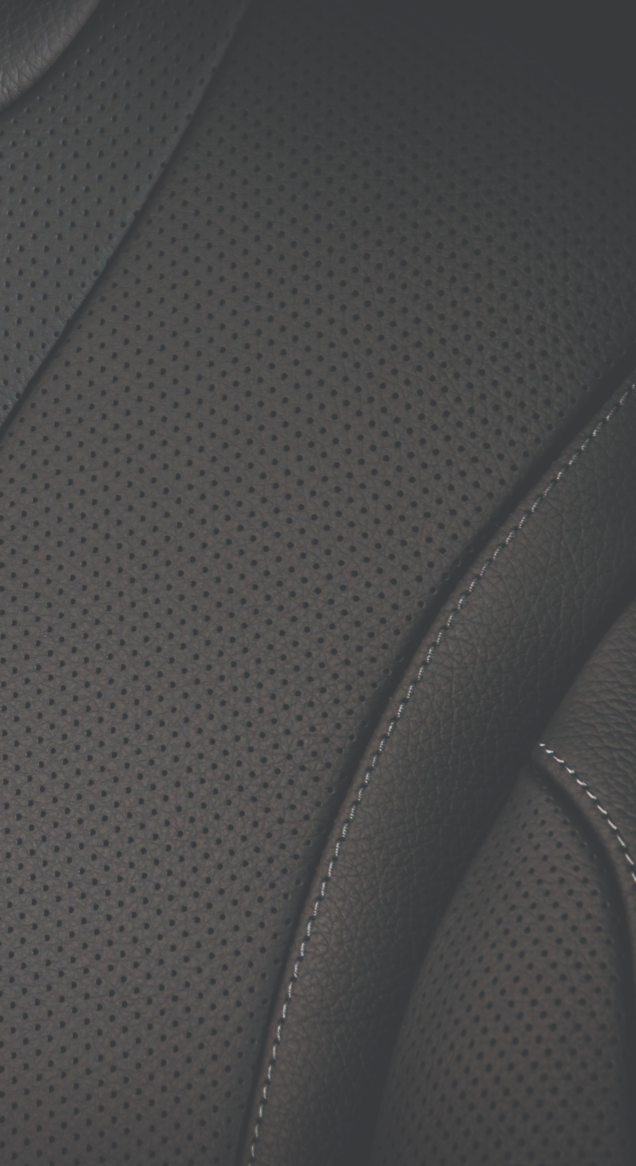 Close Up Of an Automotive Seat