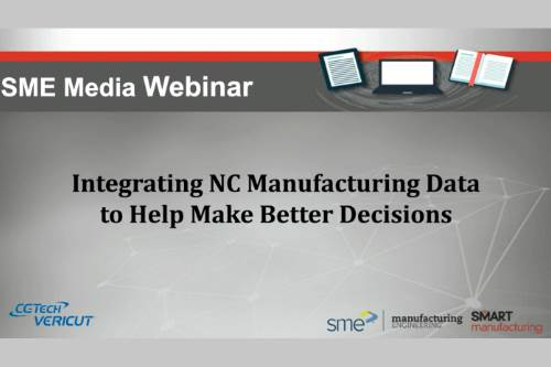 Integrating NC Manufacturing Data to Help Make Better Decisions