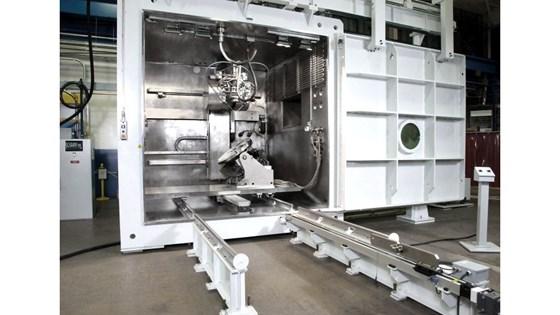 EBAM machine