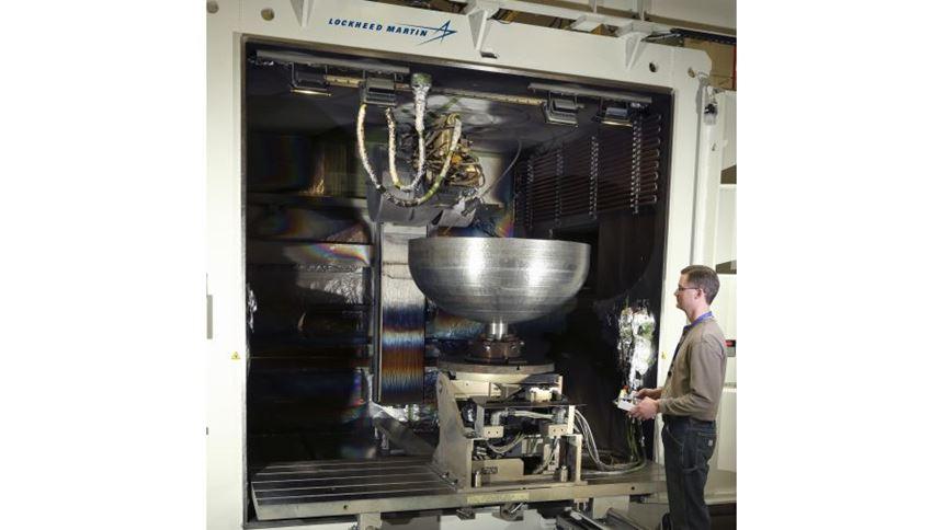 Lockheed Martin EBAM component