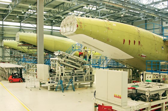 A400M military airlifter aircraft fuselages