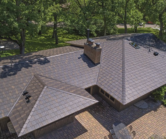 Edco Products' Mike Bergeson smiles proudly when he looks at the metal shingles his company produces in its Minnesota plant, then offers an assessment that would catch many industrial finishers off guard.
