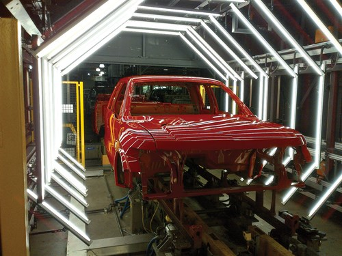 Auto Makers Undergo Paint Shop Makeovers Products Finishing