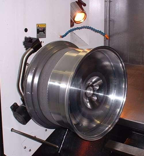 wheel on cnc lathe
