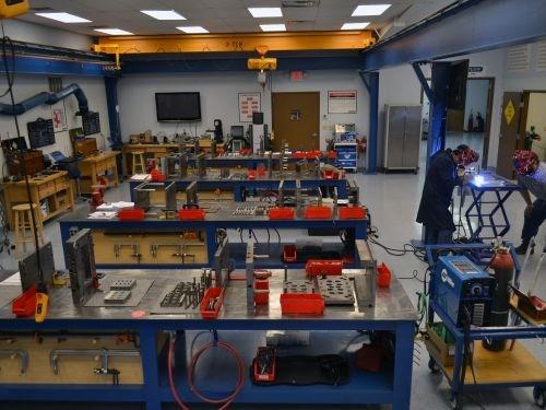 maintenance and repair area