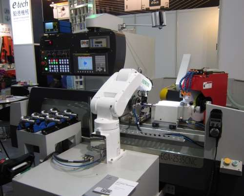 E-Tech Machinery's EGA 2535 CNC