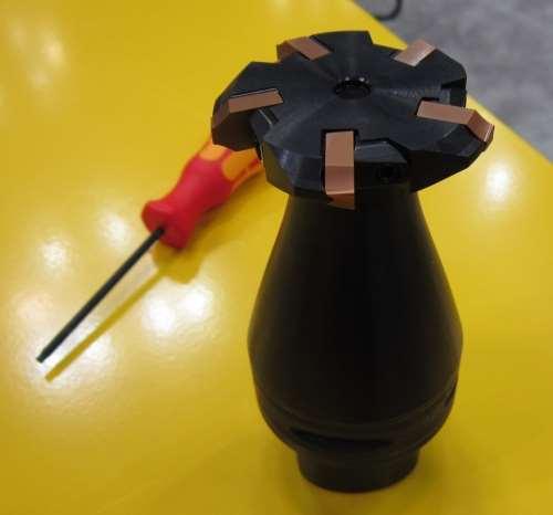Sandvik's CoroMill172 full-form cutter