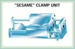 Sesame clamp unit