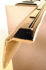 Blow molding textiles into interior automotive panels