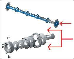 Maplan can convert a pipe line