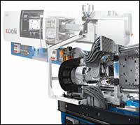 Netstal's first all-electric injection machine