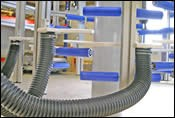 Kdesign's patented air-exhaust system