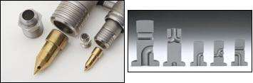 Heater nozzle and Flow Element Technology