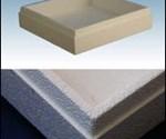 Expanded PLA bead foam