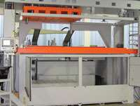 Geiss's new composite sheet forming machine