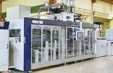 Illig's new high-speed RDK90 pressure former