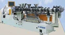 Steer's H Class corotating twin-screw
