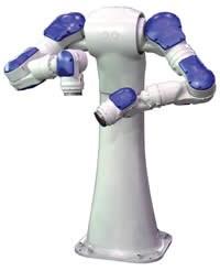 SDA 15-axis, dual-arm robot from Motoman