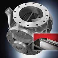 Pelletron's new rotary airlock