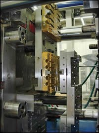 In-mold assembly (IMA) tool from Grosfilley