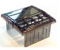 Polycarbonate instrument housing