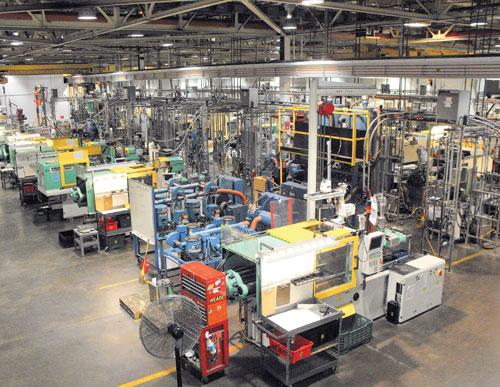 40 molding machines