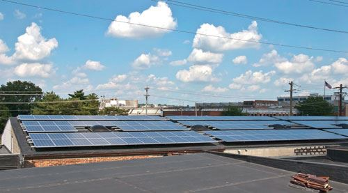 44 kW of solar panels
