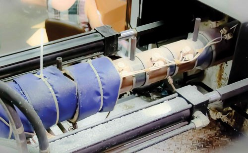 Recto wraps its machines' injection barrels