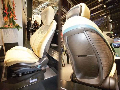 New seat from Faurecia