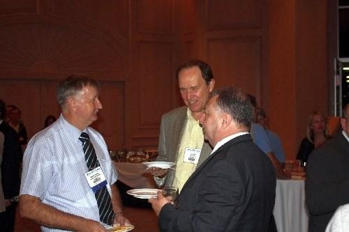 Stewart Hemsley, Rob Reid and Steve Burling