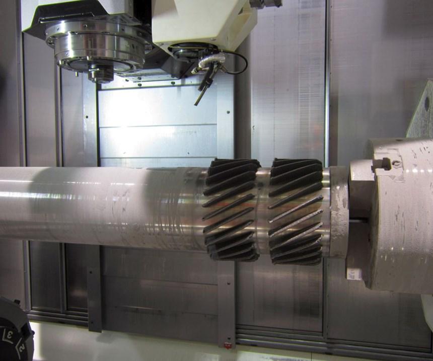 five-axis hybrid Lasertec 4300 3D
