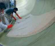 Low-density foam core materials are a mainstay in marine fabrication.