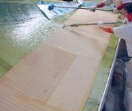 DIAB supplies core kits already cut and beveled to the customer's specification, ready to place in the mold.