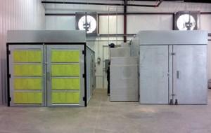 ovens in powder coating