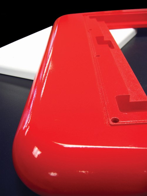 UV powder coating