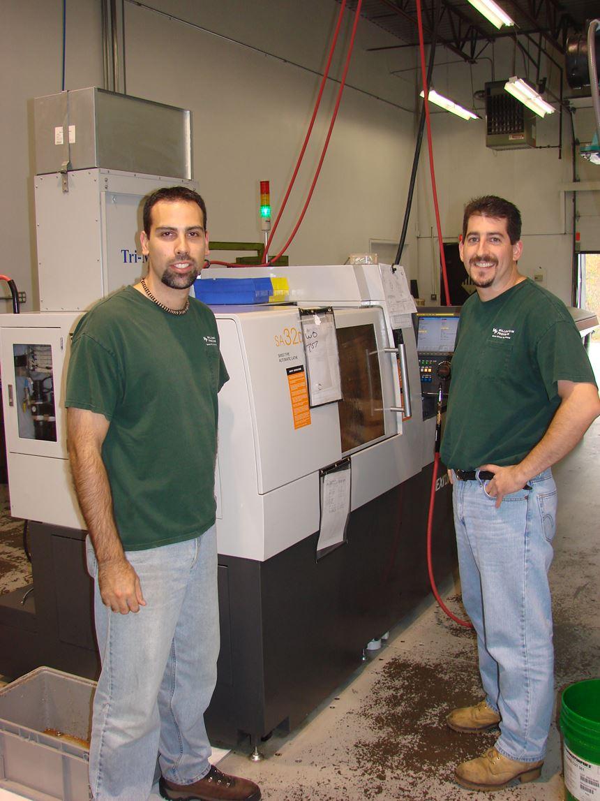 Eric Filiatrault and Sean Duclos