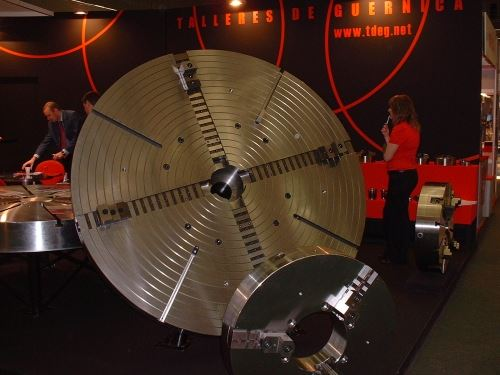 vertical turning lathes chuck